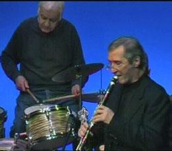 Konrad Körner mit der DT-Jazzband 2009